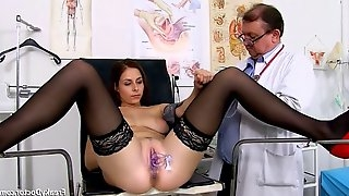 Antonia sainz – 23 years girls gyno exam