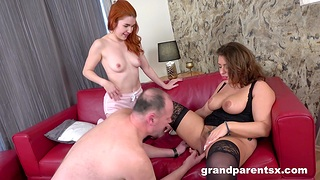 Sexual addiction with her chubby ass dam alongside relative to help