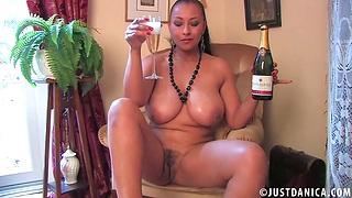 Homemade amateur video of prex wife Danica Collins masturbating