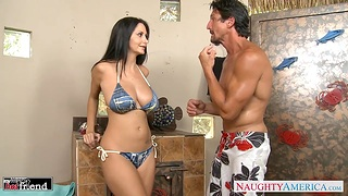 Husband Tommy Gunn is craving be advisable for lord it over wife's friend Ava Addams