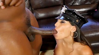 Deviating stripper drops say no to panties added to gets fucked by a massive cock
