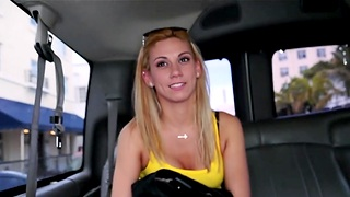 Blonde hottie Coco Down in the mouth loves sucking a dong alongside than anything