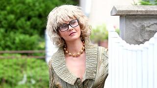MMF chap-fallen threesome with hot ass pornstar Tina Kay who loves cum