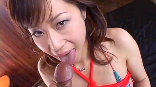 Japanese chick gets say no to pussy fingered and fucked hard by a stud
