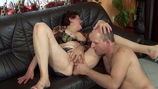 Chubby grandma gets extreme rough fucked