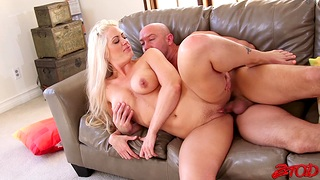 Cum in mouth for charming Holly Main ingredient after passionate fucking