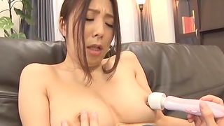 Homemade video with attractive Ichijou Kimika with natural pair