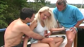 Boat Ride Anal Fuck With Sultry Hot Bazaar